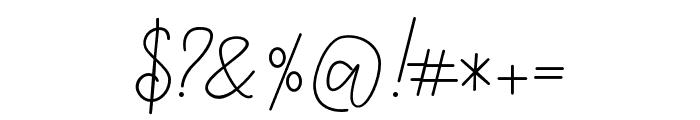 TropicalMonolineScript Font OTHER CHARS