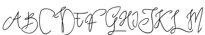 TropicalMonolineScript Font UPPERCASE