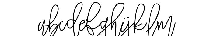 TropicalMonolineScript Font LOWERCASE