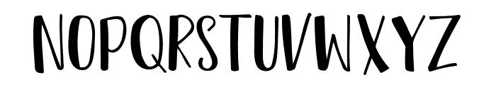 TropicalSans Font UPPERCASE