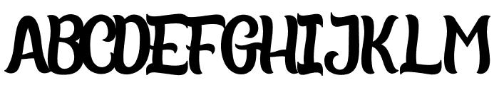 TropicalVacatina Font UPPERCASE