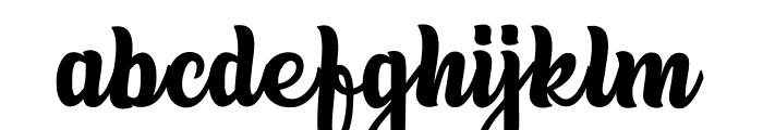 TropicalVacatina Font LOWERCASE