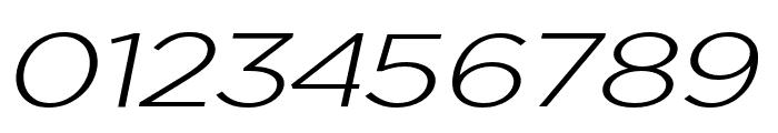 Uniclo Light Italic Font OTHER CHARS