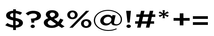 Uniclo Medium Font OTHER CHARS