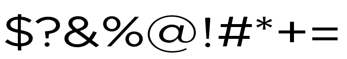 Uniclo Original Font OTHER CHARS