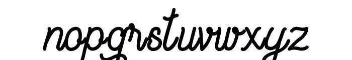Vagabond Style Font LOWERCASE