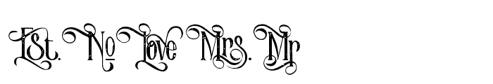 VictorianParlorAltCharacter-Vin Font UPPERCASE