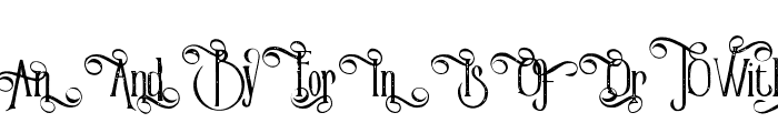 VictorianParlorAltCharacter-Vin Font LOWERCASE
