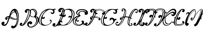 Vincicode Font UPPERCASE