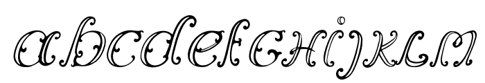 Vincicode Font LOWERCASE