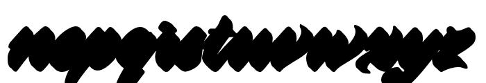 Virmana Extrude 1 Font LOWERCASE
