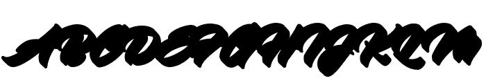 Virmana Extrude 2 Font UPPERCASE