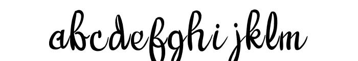 Warangga Font LOWERCASE