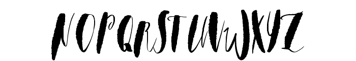 Watermelonsorbet Font UPPERCASE