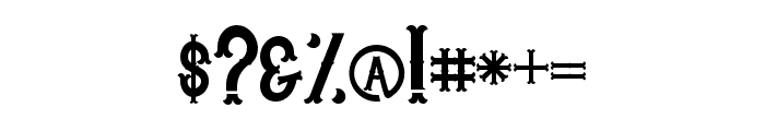Whisholder-Regular Font OTHER CHARS