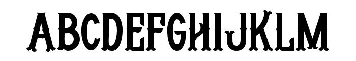 Whisholder-Regular Font UPPERCASE