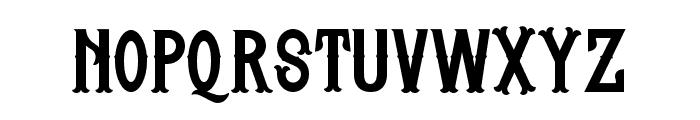 Whisholder-Regular Font LOWERCASE