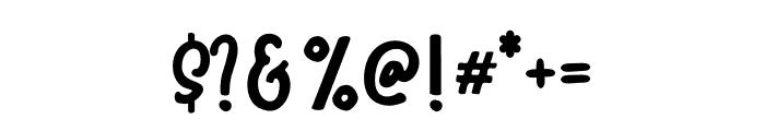 WinterTalesMonoline-Monoline Font OTHER CHARS