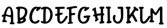 WinterTalesMonoline-Monoline Font UPPERCASE