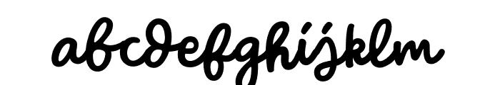 WinterTalesMonoline-Monoline Font LOWERCASE