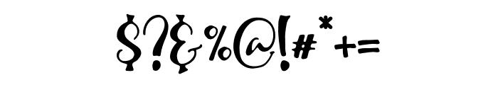 WinterTalesScript-Script Font OTHER CHARS