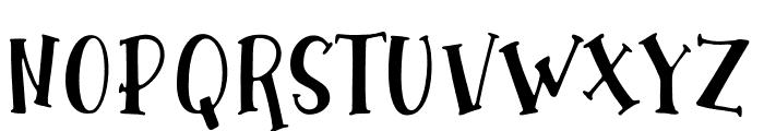 WinterTalesScript-Script Font UPPERCASE