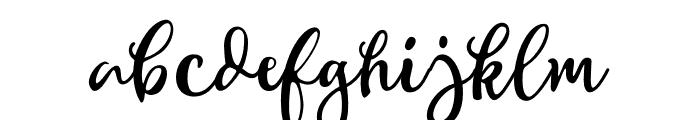 WinterTalesScript-Script Font LOWERCASE