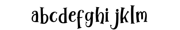 WinterTalesSherif-Sherif Font LOWERCASE