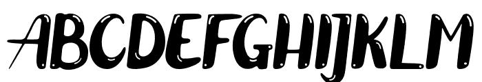 ZelighHighlight Font UPPERCASE