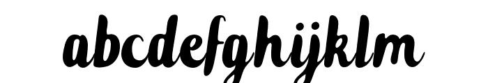 Zeligh Font LOWERCASE