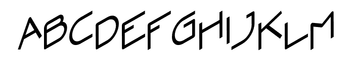 Zoomer Font LOWERCASE