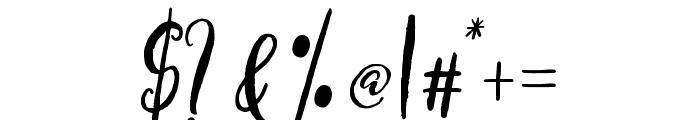 axelentiaAlt Font OTHER CHARS