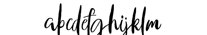 axelentiaAlt Font LOWERCASE