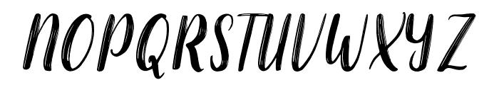 chaniago Font UPPERCASE