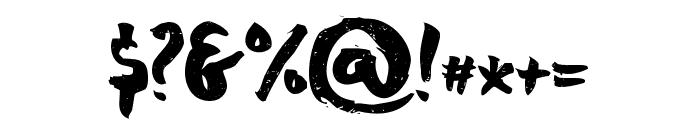 chocoleta 1 Font OTHER CHARS