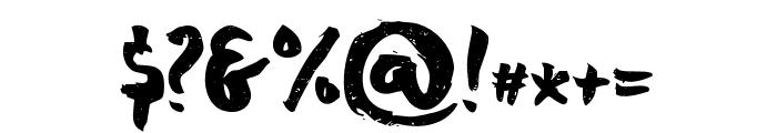 chocoleta1 Font OTHER CHARS