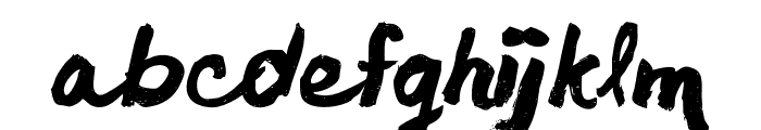 chocoleta1 Font LOWERCASE