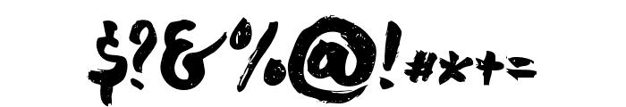 chocoleta2 Font OTHER CHARS