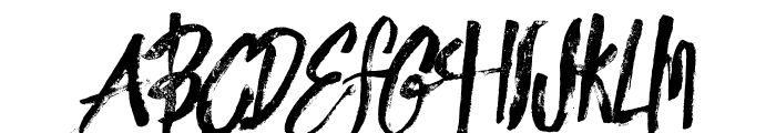 innocents rough Font UPPERCASE