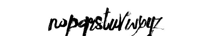 innocents rough Font LOWERCASE