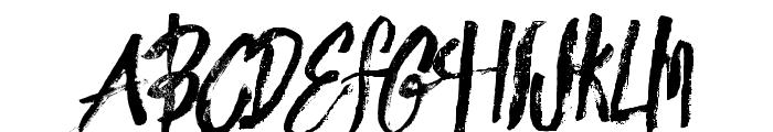 innocentsrough Font UPPERCASE