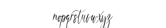magdalena script Font LOWERCASE