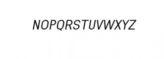 Engula-NewsItalic.ttf Font UPPERCASE