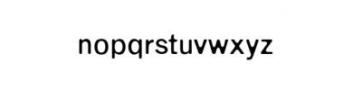 Enrique-Round.otf Font LOWERCASE