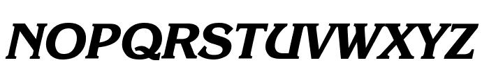 Enchanted Bold Italic Font UPPERCASE