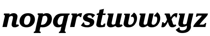 Enchanted Bold Italic Font LOWERCASE