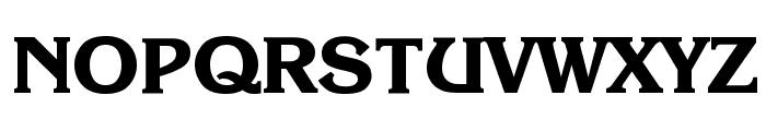 Enchanted Bold Font UPPERCASE