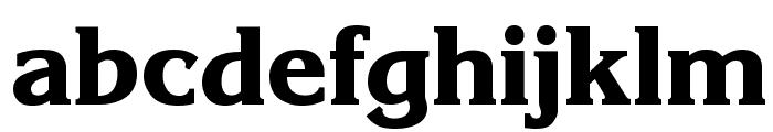 Enchanted Bold Font LOWERCASE