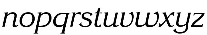 Enchanted Italic Font LOWERCASE