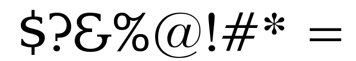 Enchanted Font OTHER CHARS